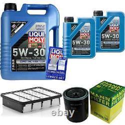 Révision Filtre LIQUI MOLY Huile 7L 5W-30 Pour Ford Ranger Tu 2.5 Td