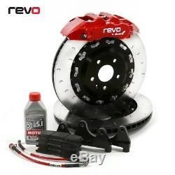 Revo Technik Mono 6 380mm Grand Kit de Frein pour Ford Focus Rs Mk2 (2009-2010)