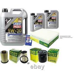 SKETCH D'INSPECTION FILTRE LIQUI MOLY HUILE 7L 5W-30 pour Ford Focus II Break DA