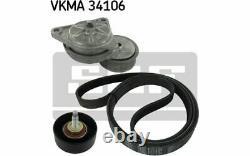 SKF Kit de courroies d'accessoire VKMA 34106 Pièces Auto Mister Auto