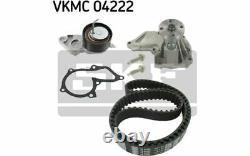 SKF Kit de distribution avec pompe à eau pour FORD FOCUS FUSION VKMC 04222