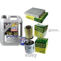 Sketch D'Inspection Filtre LIQUI MOLY Huile 5L 5W-30 Pour Ford Focus II Car
