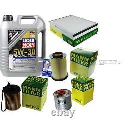 Sketch D'Inspection Filtre LIQUI MOLY Huile 5L 5W-30 Pour Ford Mise III