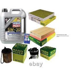 Sketch D'Inspection Filtre LIQUI MOLY Huile 5L 5W-30 Pour Ford Se Concentrer