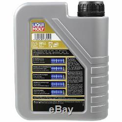 Sketch D'Inspection Filtre LIQUI MOLY Huile 6L 5W-30 Pour Ford Focus