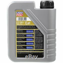 Sketch D'Inspection Filtre LIQUI MOLY Huile 6L 5W-30 Pour Ford Focus III