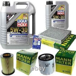 Sketch D'Inspection Filtre LIQUI MOLY Huile 6L 5W-30 Pour Ford Focus II Car