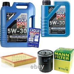 Sketch D'Inspection Filtre LIQUI MOLY Huile 6L 5W-30 Pour Ford P 100 II
