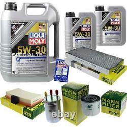 Sketch D'Inspection Filtre LIQUI MOLY Huile 7L 5W-30 Pour Ford Focus Dnw