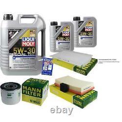 Sketch D'Inspection Filtre LIQUI MOLY Huile 7L 5W-30 Pour Ford Point Break Dnw