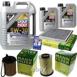 Sketch D'Inspection Filtre LIQUI MOLY Huile 7L 5W-30 Pour Ford Tournoi