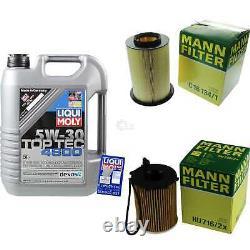 Sketch D'Inspection Filtre Liqui Moly Huile 5L 5W-30 Pour Ford Focus III Break
