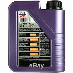 Sketch D'Inspection Filtre Liqui Moly Huile 7L 5W-40 Pour Fiat Scudo 270 2.0 D