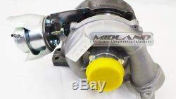 Turbo & Fixation Kit pour Peugeot Citroen Ford 1.6 HDI 1.6 TDCI 110 Bhp GT1544V