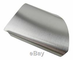 Vrai Aluminium Volant Cache / Revêtement Couper Dans 4tlg Kit Pour Ford Mise 2